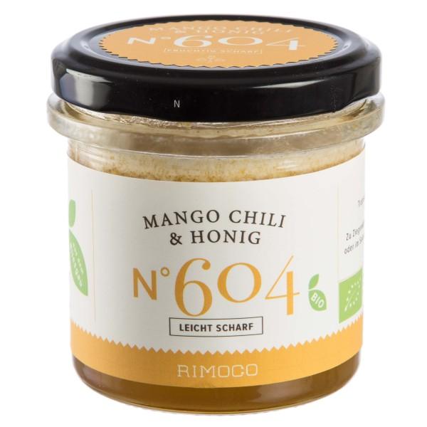 Mango und Chili mit Honig
