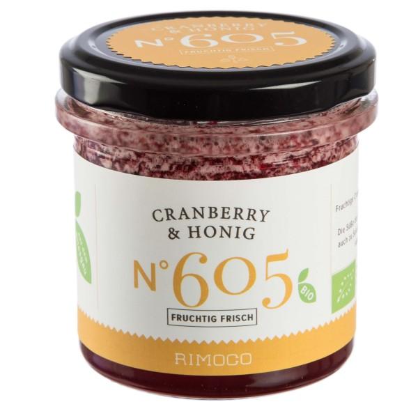 Cranberries mit Honig